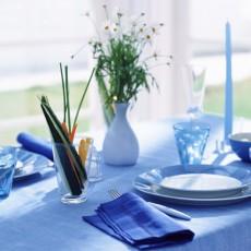 青を塗って子供の集中力を高める生活空間
