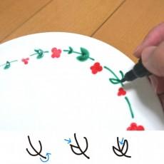 プレゼントに最適!ニトリの丸皿をプチリッチなお皿にDIYペイント