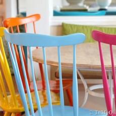 木製の椅子から布張りのチェアまで!!椅子のペイント実例