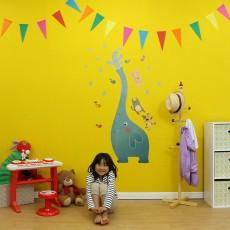 子供部屋を大改造!壁を大胆な色に塗り替えてみました!!