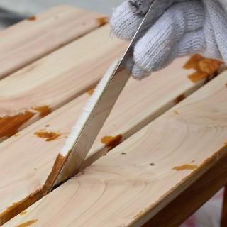 ベンダーを使えば隙間が簡単に塗れる