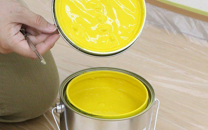 塗料缶の開け方