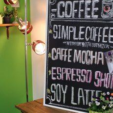 カフェ風リビング【7-2】カフェ風に必須!磁石がくっつく黒板を作ろう(黒板編)