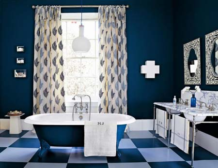 Modern-bathroom-curtains-ideas
