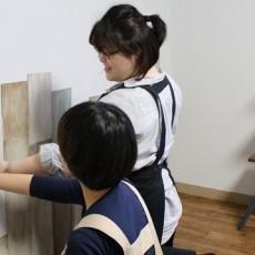男前DIY【2-3】スクラップウッド風の腰壁を作ってみよう!設置~完成まで