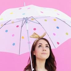 誰でも簡単にできる!ビニール傘のペイント事例集!