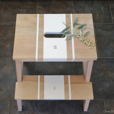 IKEAのステップスツールをペイントDIY!おすすめの塗料と実例集