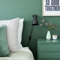 緑色の壁なら自宅が癒しの空間に!海外事例7選