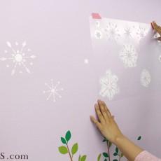 ステンシルシートを使って壁に模様をつけよう!コツとステキな海外事例を紹介