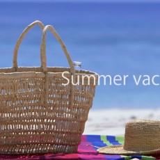 【お知らせ】夏期休業のご案内