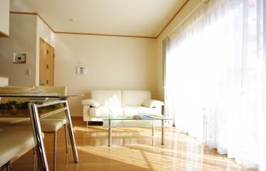 日当たりのよい部屋