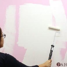 初心者のためのペイントローラーによる室内壁の塗り方講座