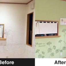 壁の汚れはペイントDIYで元通り!子供が落書きした壁をセルフリフォーム