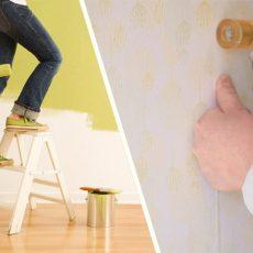 壁紙張り替えする?ペンキで塗り替えする?徹底比較!