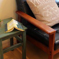 IKEAのイスを人気の木部塗料で塗ってみたら素敵なイスになりました。