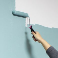 壁紙の上から塗れる水性塗料をご存じですか?